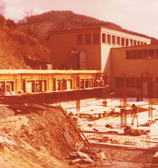 1976 - The second construction phase of the second plant